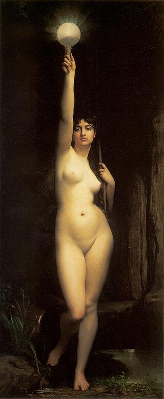 Жюля Жозефа Лефевра, «Істина», 1870 рік